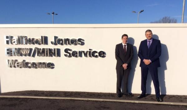 Newly Appointed Service & Parts Managers at Halliwell Jones Chester
