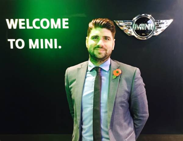 New Sales Manager appointed at Halliwell Jones Southport MINI