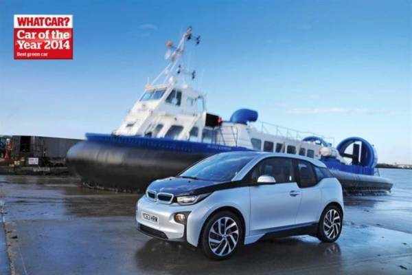 The BMW i3 named 'Green Car' of the year at the What Car? Awards 2014