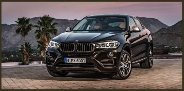 The brand new BMW X6