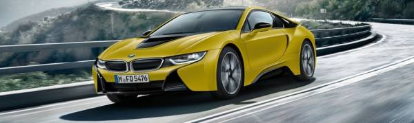 The new BMW i8 Prontonic Colours