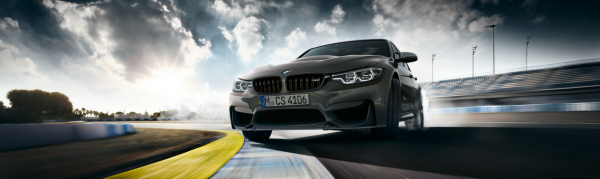 THE NEW BMW M3 CS.
