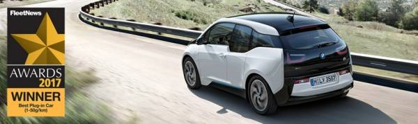 BMW i3 94Ah RANGE EXTENDER WINS BEST PLUG-IN CAR AWARD