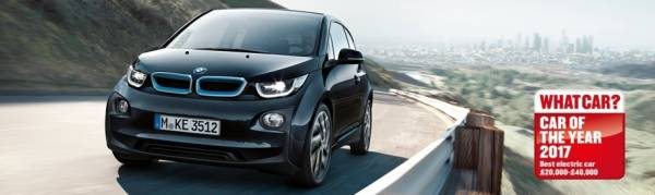 BMW i3 WINS BEST ELECTRIC CAR 2017
