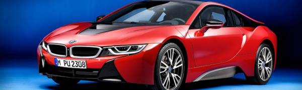 Introducing the limited edition Protonic Red BMW i8