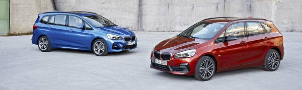 The new BMW 2 Series Active & Gran Tourer