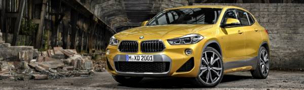 The new BMW X2.