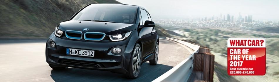 BMW i3 WINS BEST ELECTRIC CAR 2017
