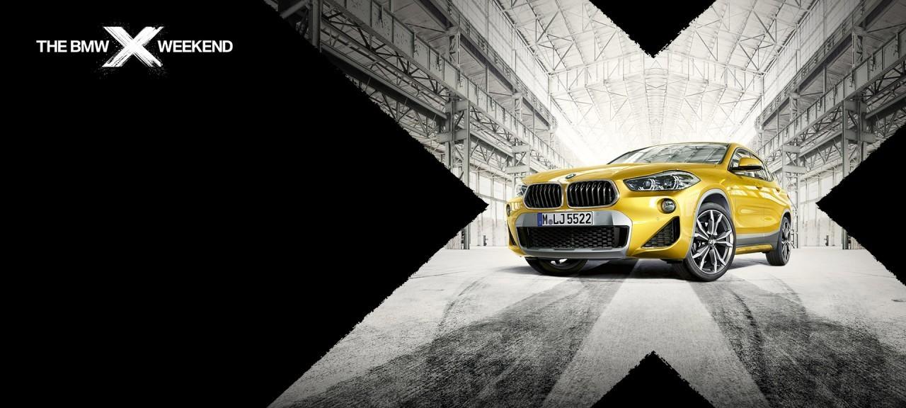 BMW X WEEKEND. JULY 20-22