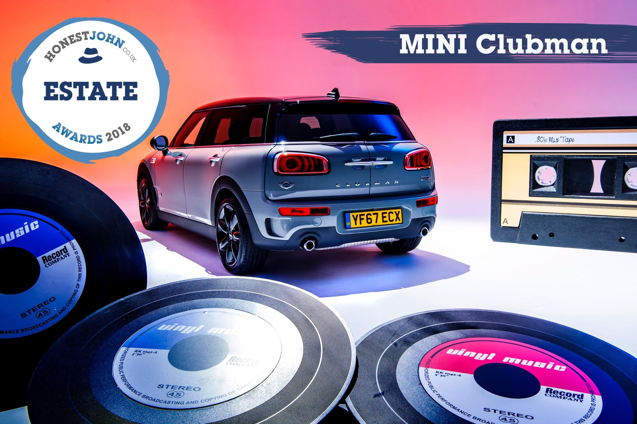MINI Clubman wins most popular Estate award