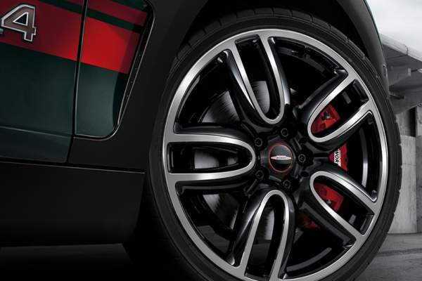 2016 John Cooper Works Clubman Wheel Image High Resolution Jpeg