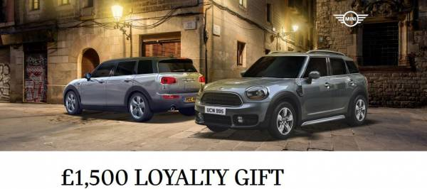 MINI Loyalty Offer - Get more MINI for your money at Halliwell Jones