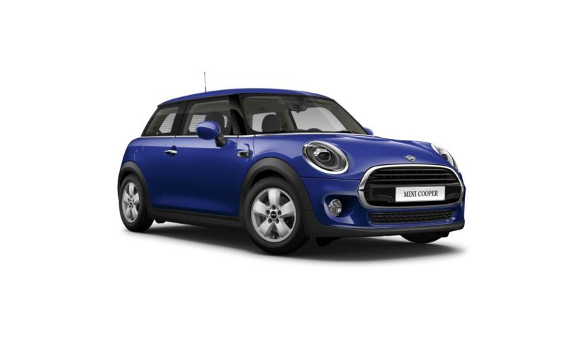 Mini Cooper 3 Door Classic In Blue