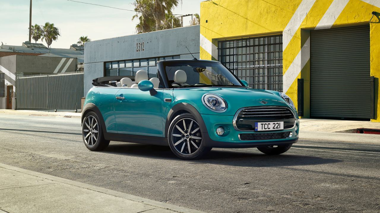 MINI Convertible now available with 0% APR