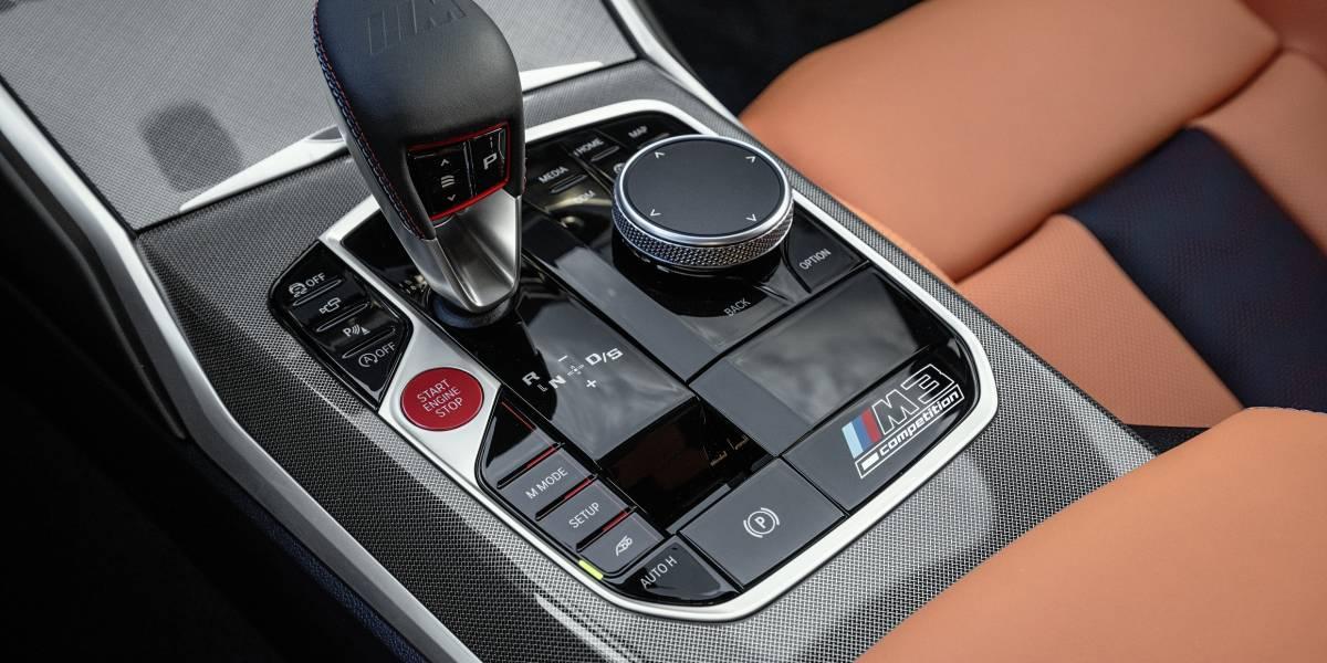 2020 BMW M3 Gear Selector