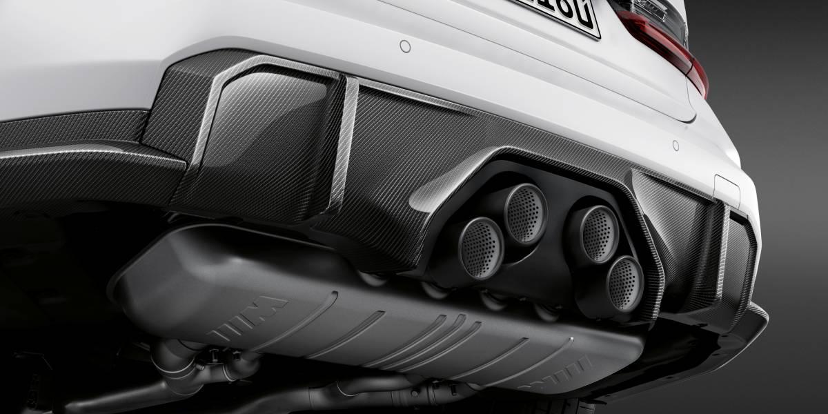 2020 BMW M3 M Performance parts exhaust