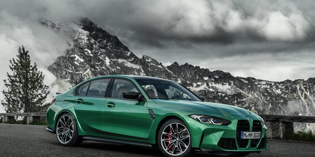 2020 BMW M3 front