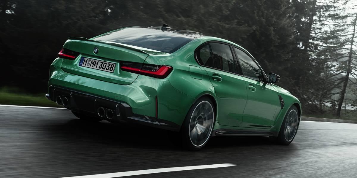 2020 BMW M3 rear