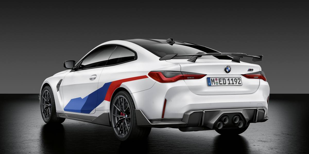 2020 BMW M4 M Performance parts rear