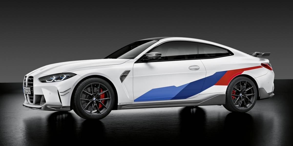 2020 BMW M4 M Performance parts side