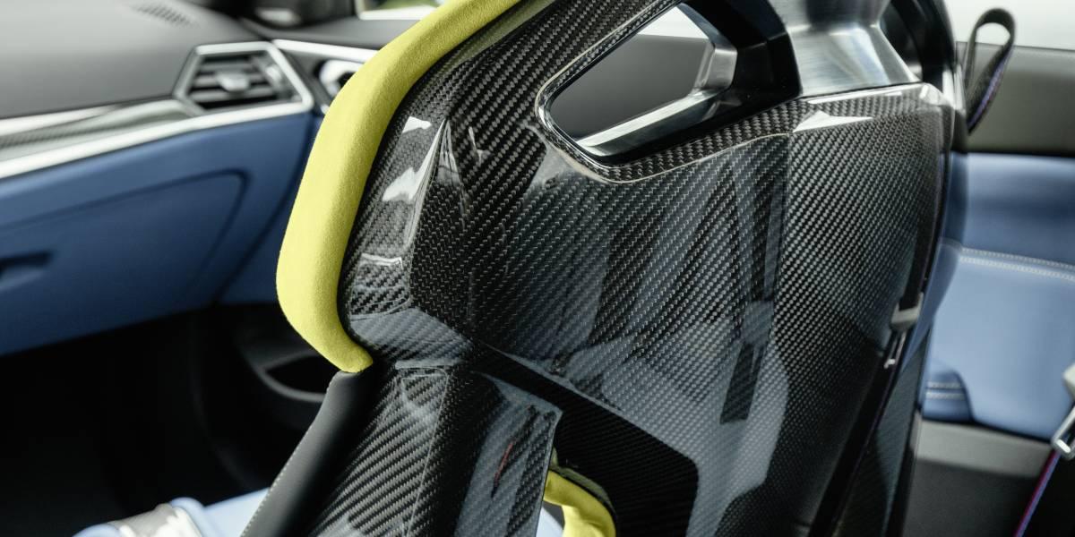 2020 BMW M4 carbon setas rear