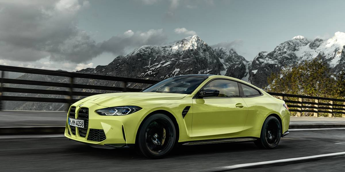 2020 BMW M4 front