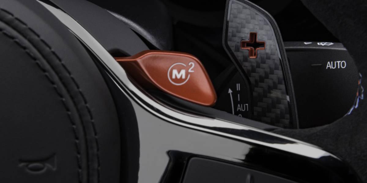 M5 CS M Mode Button Close Up