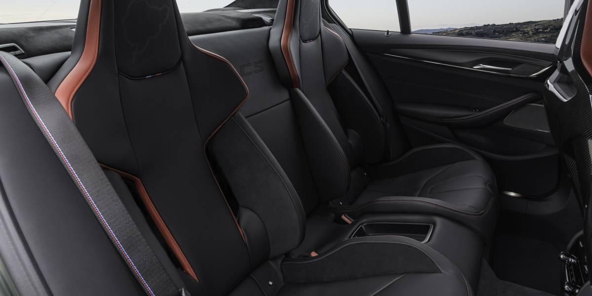 M5 CS Rear Seats