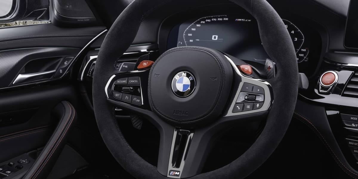 M5 CS Steering Wheel