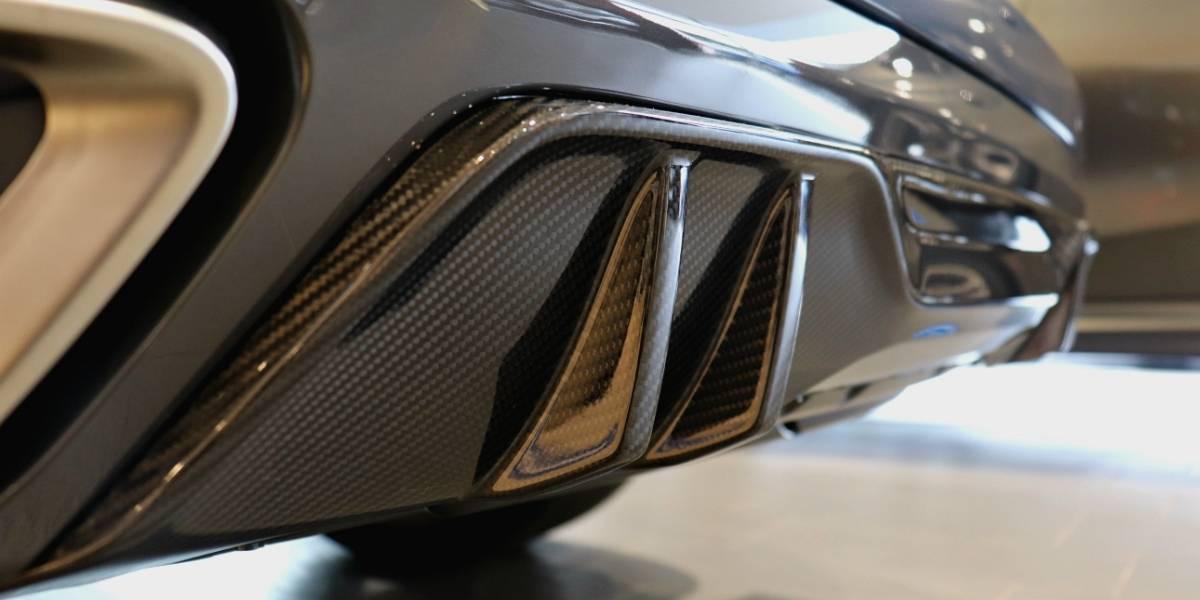 NW X5 M50d Carbon diffuser