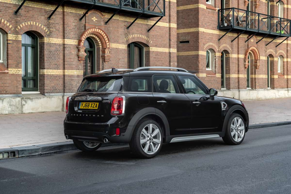 2019 MINI Countryman Exclusive Rear Shot Original File