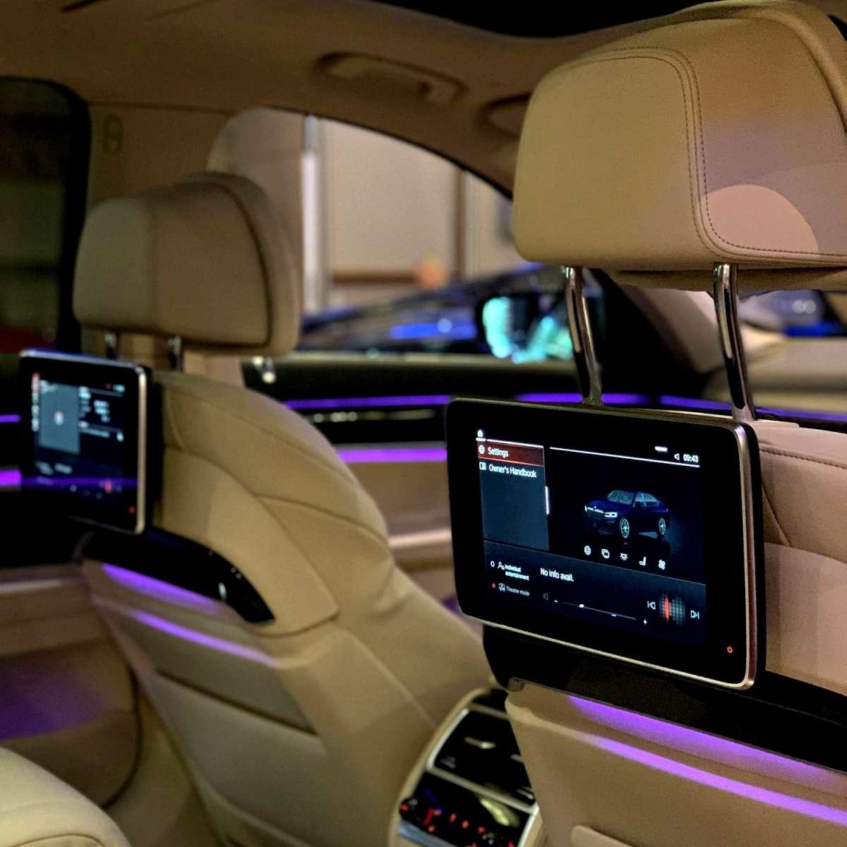 BMW 7 Interior Carden Park 2