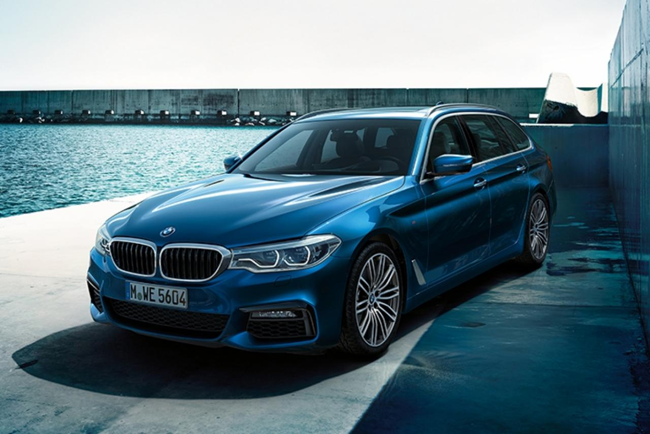 New Bmw 5 Series Touring Halliwell Jones 1400 934 S C1