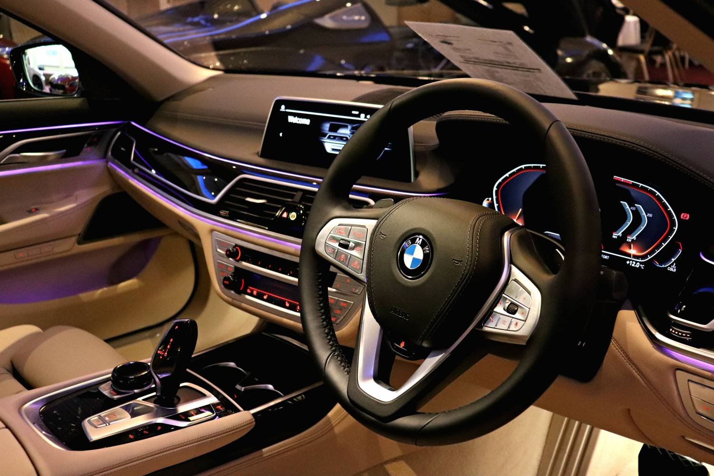 BMW 7 Interior Carden Park 1