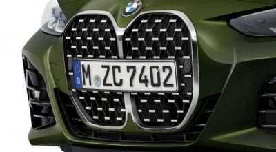 New iconic grille.
