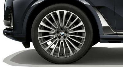 "22"" light alloy wheels."