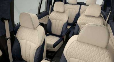 BMW X7 Six- or seven-seater.