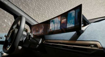 BMW Curved Display.