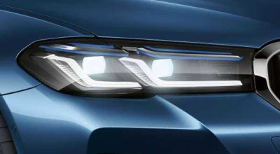 BMW Laserlights.
