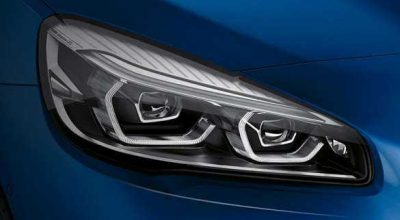 BMW LED headlights.