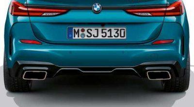 BMW 330e Charge Port