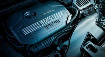 BMW TwinPower Turbo 4-cylinder petrol engine.
