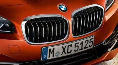 Iconic kidney grille.