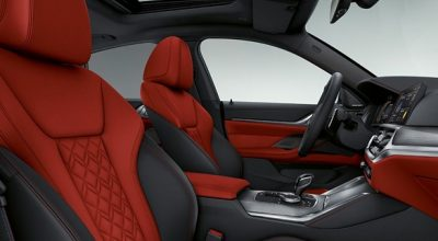 The BMW M5 Edition 35 Jahre Front Seats