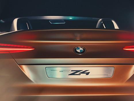 Bmw Z4 Concept Rear