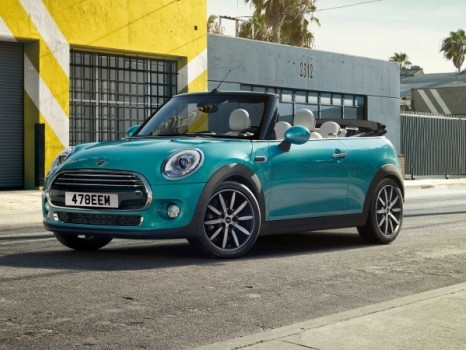 MINI Convertible is now available on on Motability Scheme