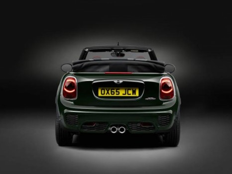 New MINI JCW Rear