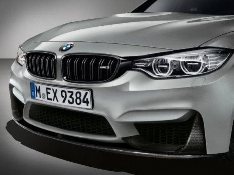 New BMW M3 Front