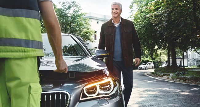 BMW Teleservice Breakdown Call