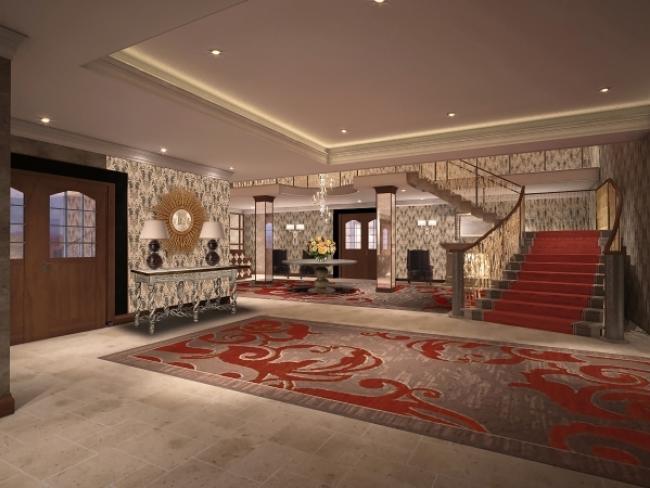 Grosvenor Pulford Hotel  Spa Reception